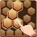 Wood Block Hexagon