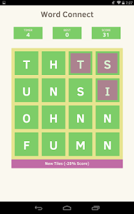 screenshot of Word Connect - Word Puzzle version 1.0.5