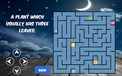 screenshot of Word Maze Puzzle version 1.0.2