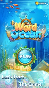 screenshot of Word Ocean-Word link and connect,TRAIN your brain version 1.1.5