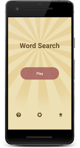 screenshot of Word Search Puzzle version 1.0