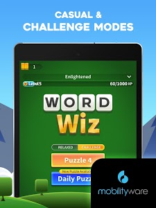 screenshot of Word Wiz - Connect Words Game version 1.7.0.602