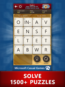 screenshot of Microsoft Wordament® version Varies with device