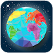 World map geography, capitals, flags, countries