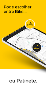 screenshot of Yellow - Scooter and Bike sharing version 1.12.0