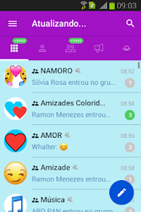 screenshot of Zap Chat Messenger version 1.8