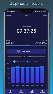 screenshot of Zero Calories - fasting tracker for weight loss version 117