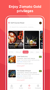 screenshot of Zomato - Restaurant Finder and Food Delivery App version 14.2.3