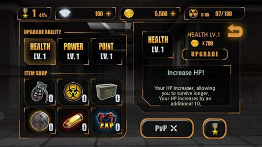 screenshot of Zombie Hunter King version 1.0.29