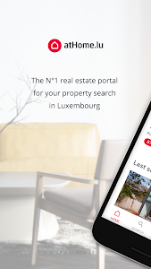 screenshot of atHome Luxembourg - Homes for Sale & Rent version 5.2.6