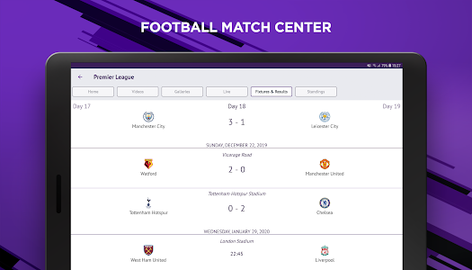 screenshot of beIN SPORTS version 5.0
