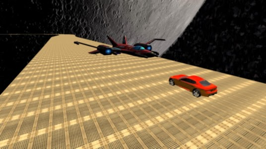 screenshot of crazy car stunts on real impossible road 2019 version 1.7