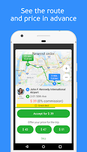 screenshot of inDriver — Better than a taxi version Varies with device