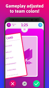 screenshot of mTaboo - tabu, forbidden words party game! version 1.1.2