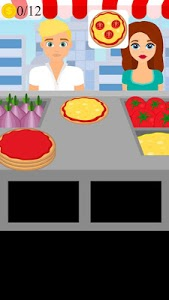 screenshot of pizza stand game version 1.0