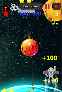 screenshot of space shooter and shooting buzz version 4.26.2