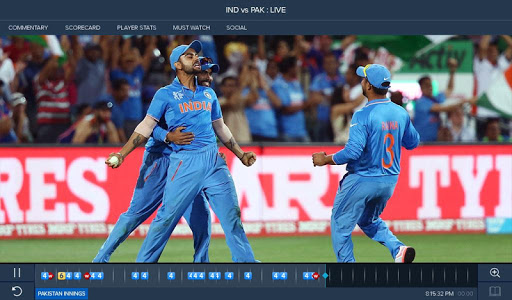 screenshot of Star Sports Live Cricket Score version 4.6