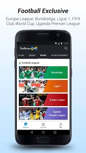 screenshot of StarTimes ON - Live TV & Football version 5.9