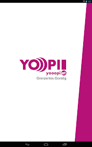 screenshot of yooopi! version 2.1.2